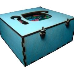 Лазерная резка и гравировка Коробка для чайных наборов 8(499) 409-28-36