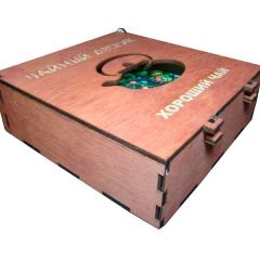 Лазерная резка и гравировка Коробка для чайных наборов №2 8(499) 409-28-36