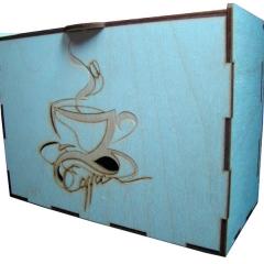 Лазерная резка и гравировка Упаковка для кофейных наборов 8(499) 409-28-36