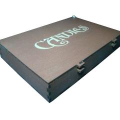 Лазерная резка и гравировка Коробка для шоколадных конфет 8(499) 409-28-36