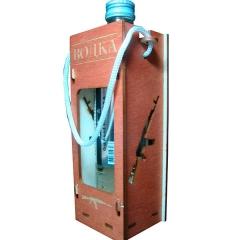 Лазерная резка и гравировка Коробка под водку 8(499) 409-28-36