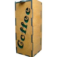 Лазерная резка и гравировка Упаковка для кофе 8(499) 409-28-36