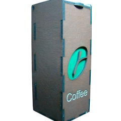 Лазерная резка и гравировка Упаковка для рассыпного кофе 8(499) 409-28-36