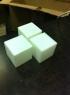 1000 комплектов заготовок кубиков-трансформеров.