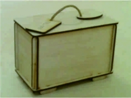 Лазерная резка и гравировка Коробочка для чая на 25 пакетиков (000) 8(499) 409-28-36