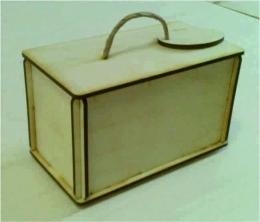 Лазерная резка и гравировка Коробочка для чая на 25 пакетиков (004) 8(499) 409-28-36