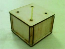 Лазерная резка и гравировка Коробка для листового чая (010) 8(499) 409-28-36