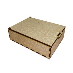 """Лазерная резка и гравировка Коробка из дерева """"Узорная"""" 8(499) 409-28-36"""