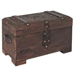 """Лазерная резка и гравировка Коробка """"Древний сундук"""" 8(499) 409-28-36"""