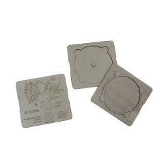 Лазерная резка и гравировка Упаковка для диска 8(499) 409-28-36
