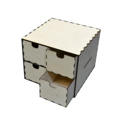 """Лазерная резка и гравировка Упаковка с ящиками """"Двойная"""" 8(499) 409-28-36"""